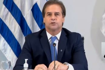 """Luis Lacalle Pou lowered the tone to his crossing with Alberto Fernández: """"I did not fight with anyone"""""""