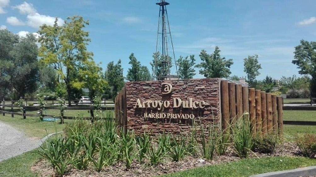 El hecho ocurrió en el barrio Arroyo Dulce, ubicado sobre la ruta 47, del partido bonaerense de Luján.