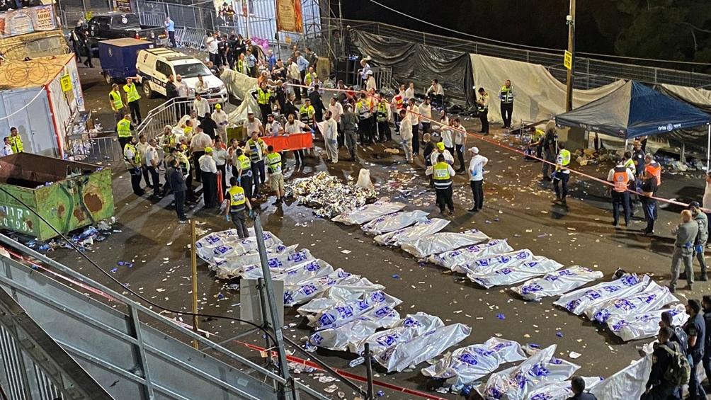 La explosión ocurrió durante una peregrinación judía ortodoxa en el norte