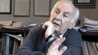 El historiador Norberto Galasso.