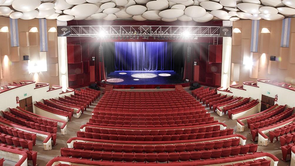 La sala Astor Piazzola sede del Festival en Mar del Plata