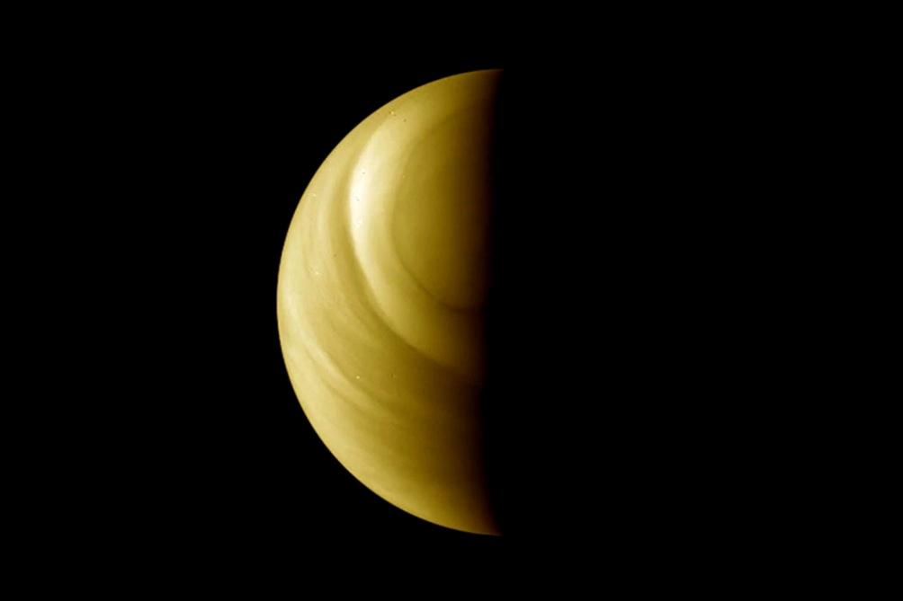 Venus posee una atmósfera tóxica y envuelta en densas nubes ricas en ácido sulfúrico