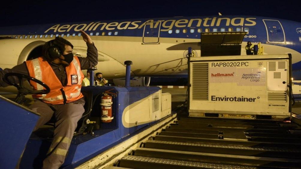 Aerolíneas Argentinas lleva completados un total de cinco vuelos a China