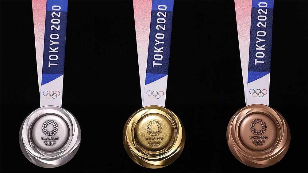 Las medallas de Tokio 2020.