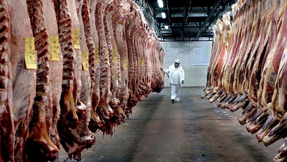 China continuó liderando las exportaciones de carnes bovinas.