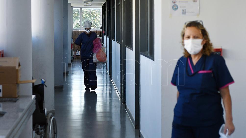 Son 4.090 los internados con coronavirus en unidades de terapia intensiva.
