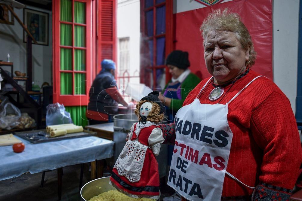 La hija de Margarita Meira fue asesinada tras haber sido secuestrada por una red de trata. Foto: Eliana Obregón