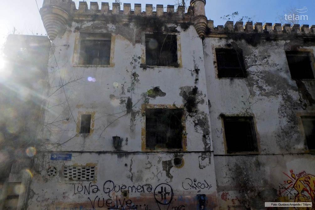 La vieja cárcel de Caseros, donde estuvo alojado Buletti los primeros años de su condena.